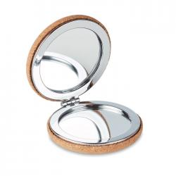 Pocket mirror with cork...
