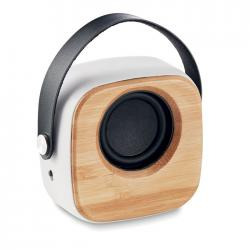 Speaker 3w with bamboo...