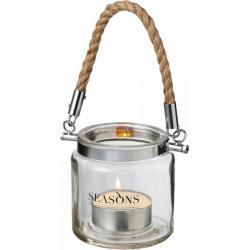 Solano glass lantern