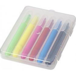 Phiz 6 retractable crayons...