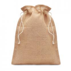 Small jute gift bag 14 x 22...