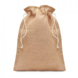 Medium jute gift bag 25 x...