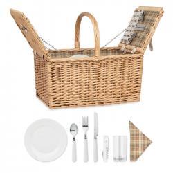 Wicker picnic basket 4...