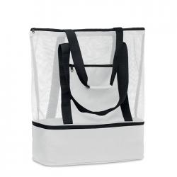 Mesh shopping bag in 600d...