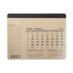 Mousepad calendar Flen