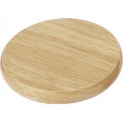 Scoll wooden coaster with...