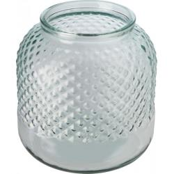 Estar recycled glass candle...