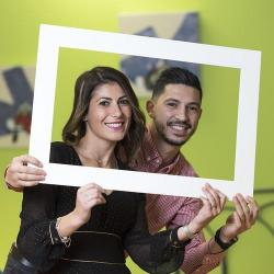 Selfie photo frame Heylo