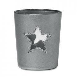 Tea light holder Shinny star