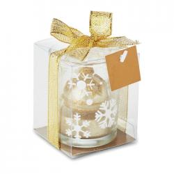 Glass candleholder Glitterie