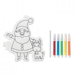 Santa claus colouring balloon Santaball