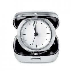 Metal travel alarm clock Glim