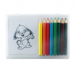 Wooden pencil colouring set Recreation