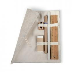 Stationary set in cotton pouch Ecoset