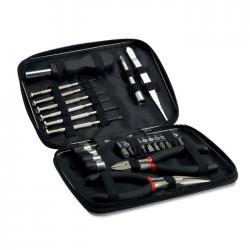 26 pcs tool in aluminium case Paul