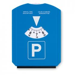 Ice scraper in parking card Park & scrap