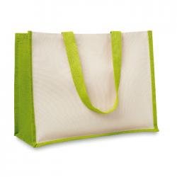 Jute and canvas shopping bag Campo de fiori