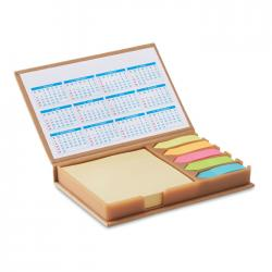 Desk set memo with calendar Memocalendar