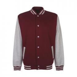 Unisex sweatshirt 300 g m2 Varsity jacket fv001