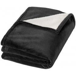 Hampton soft velours with sherpa plaid blanket