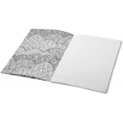 Doodle colouring notebook