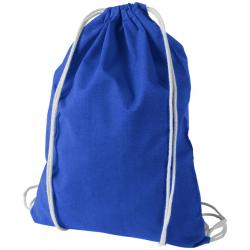 Oregon cotton drawstring backpack