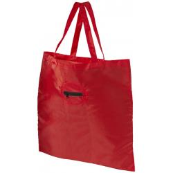 Take-away fodable shopping tote bag