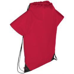 Cheer jersey-shaped drawstring backpack