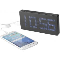 Clok 8000 mah LED time display power bank