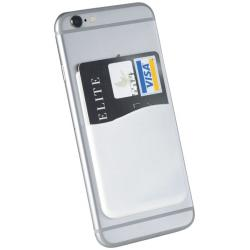 Slim card wallet accessory for smartphones
