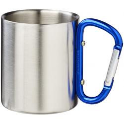 Alps 200 ml vacuum insulated mug with carabiner