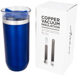 Twist non leaking copper vacuum insulated tumbler