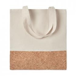 Shopping bag w cork details Illa tote