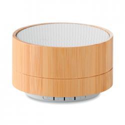 Coluna bluetooth 3w bambu...