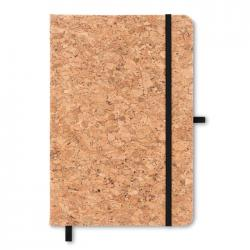 A5 notebook with cork cover Suber