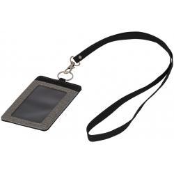 Porte-badge chiné avec...
