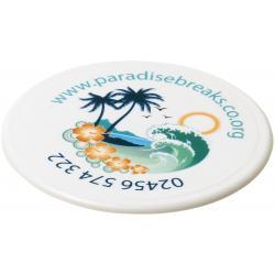 Renzo round plastic coaster