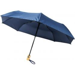 Bo 21 fold. auto open/close recycled PET umbrella