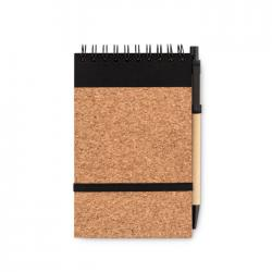 A6 cork notebook with pen...