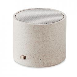 3W speaker in wheat straw...