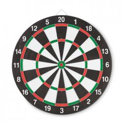 Double sided dart board...