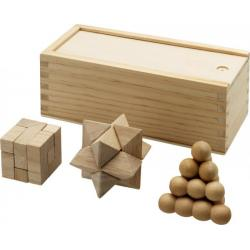 Brainiac 3-piece wooden...