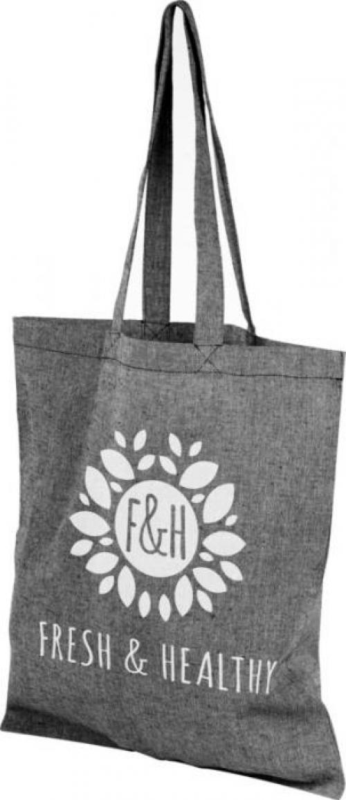 Pheebs 180 g/m² recycled cotton tote bag
